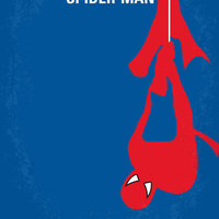 No201 My Spider-man minimal movie poster Art Print by Chungkong