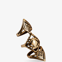 Southwestern Knuckle Ring