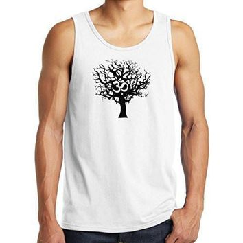 Yoga Clothing for You Mens Tree of Life Tank Top Shirt