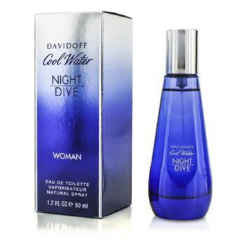 Davidoff Cool Water Night Dive Woman Eau De Toilette Spray Ladies Fragrance