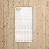 iPhone 5 Case PREORDER Navaho Tribal Aztec Print Pattern Diamond Geometric Pastel Chevron Coral Mint Tangerine Orange Green