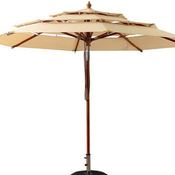Outdoor Umbrella (with wheels)