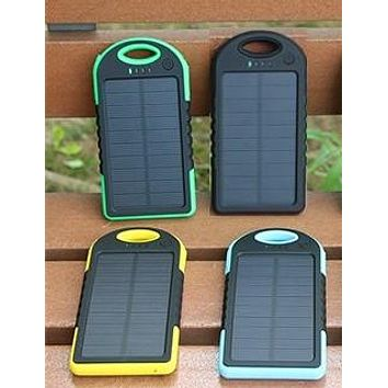 Compact Eco-Friendly Solar Charger 5000 mAh