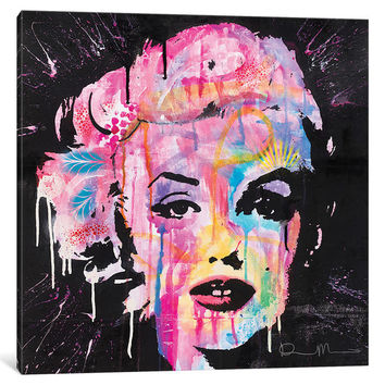 iCanvas Marilyn Monroe by Dean Russo Canvas Print | Overstock.com Shopping - The Best Deals on Canvas