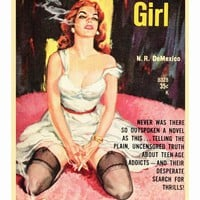Marijuana Girl 27x40 Movie Poster (1969)