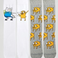 ASOS Adventure Time Socks 2 Pack