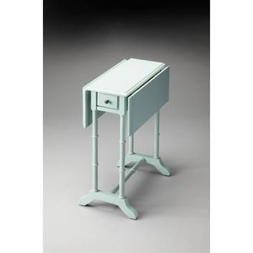 Butler Masterpiece Drop-Leaf Table In Baby Blue