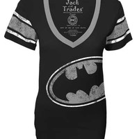 Batman Jumbo Logo Junior Football Jersey