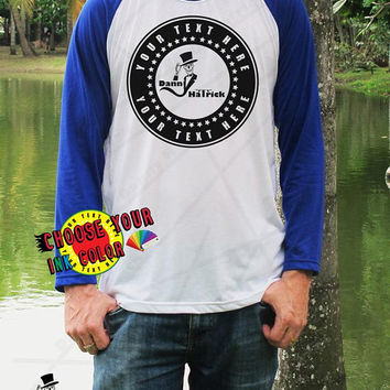 Design Your Own Personalized T shirt Custom Danny Hatrick Apparel Skull T Shirt Unisex Baseball Your Text Here Team Shirts School Shirts