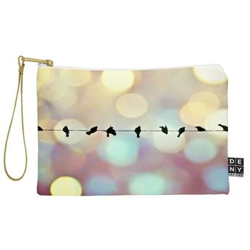 Shannon Clark Birds And Bokeh Pouch