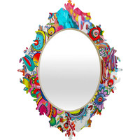 DENY Designs Stephanie Corfee Miss Penelope Baroque Mirror
