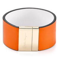 Salvatore Ferragamo Reversible Leather Cuff | Bloomingdales's