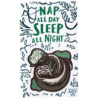 Party Never Sloth No-Sew Adhesive Patch