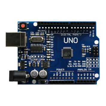 Uno R3 MCU Board DCC Version with CH340G Chip Improved Version for Adruino with Free Row Needles and Anti Static Bag