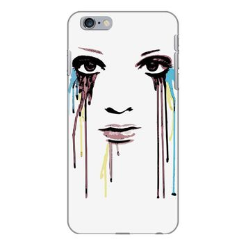 watercolor eyes iPhone 6/6s Plus Case