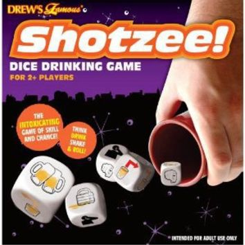 Shotzee Dice 13pc Drinking Game