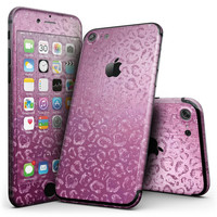 Glamorous Pink Cheetah Print - 4-Piece Skin Kit for the iPhone 7 or 7 Plus