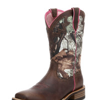 Ariat Women's Unbridled Boot - Powder Brown/Camo