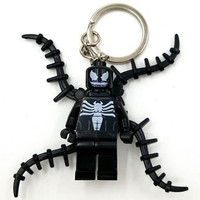 1 Piece Super Hero Avenger Black Spiderman Key Chains and Key Ring Kid Baby Toy Mini Figure Building Blocks Sets Model Toys Minifigures No Orignial Box,new in Sealed Bag #14