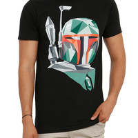 Star Wars Boba Fett Geometric T-Shirt