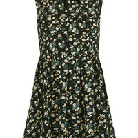 **Victoriana Neck Floral Dress by Glamorous - New In This Week - New In