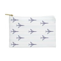 Vy La Airplanes And Stripes Pouch