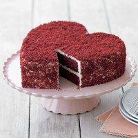 Perfect Endings Heart Red Velvet Cake | Williams-Sonoma