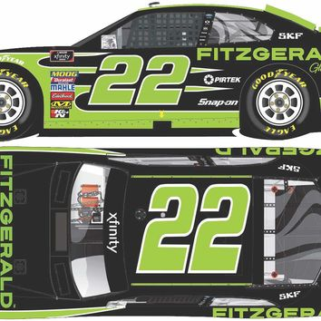 Austin Cindric 2018 #22 Fitzgerald Glider Kits Ford Mustang Xfinity Series 1:64 ARC - PRE-ORDER