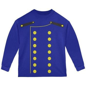 PEAPGQ9 Halloween Hotel Bellhop Costume Toddler Long Sleeve T Shirt