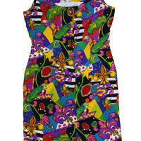 Funky Town Abstract Dress 8