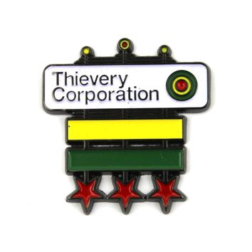 The Official Thievery Corporation 'Master General' Pin