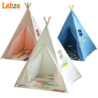 Four Poles Children Teepees Kids Play Tent