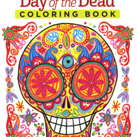 Day of the Dead Adult Coloring and Activity Book