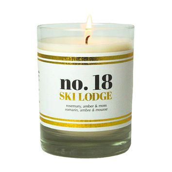No. 18 Ski Lodge Scented Soy Candle