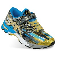 ASICS GEL-Noosa Tri 10 PS Boys' Running Shoes (Black)