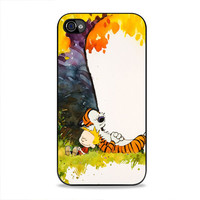 Calvin And Hobbes Nap  iPhone 4, 4s Case