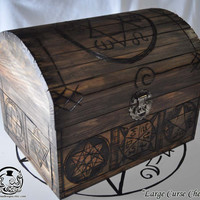 "Supernatural Inspired  ""Large Curse Chest"" Curse Box"