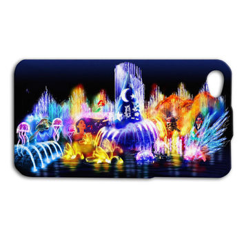 Disney Pretty Characters Waterfall Custom Case for iPhone 5/5s and iPhone 4/4s