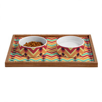 Budi Kwan Fractal Mountains Candy Pet Bowl and Tray