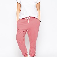 ASOS CURVE Sweat Pant With Contrast Tie