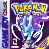 Pokemon Crystal for the Gameboy/Gameboy Color (GBC)