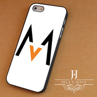 Maroon 5 logo iPhone 4 Case 5 Case 5c Case 6 Plus Case, Samsung Galaxy S3 S4 S5 Note 3 4 Case, iPod 4 5 Case, HtC One M7 M8 and Nexus Case