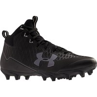 Under Armour Banshee Mid Cleat - Black