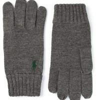 Polo Ralph Lauren classic knitted gloves