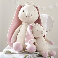 Bunny Linen And Velvet Plush | Pottery Barn Kids