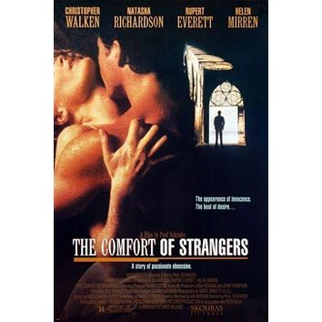 twisted THE COMFORT OF STRANGERS movie poster '90 CHRISTOPHER WALKEN 24X36
