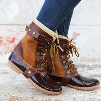 Duck Boots {Camel}