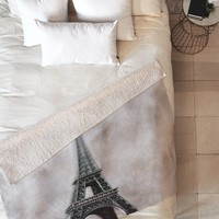 Chelsea Victoria Paris Dreams Fleece Throw Blanket