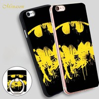 Minason HOP Holy Smokes Batman Mobile Phone Shell Soft TPU Silicone Case Cover for iPhone X 8 5 SE 5S 6 6S 7 Plus