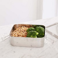 Life Without Plastic Stainless Steel Rectangular Airtight Food Container | Urban Outfitters